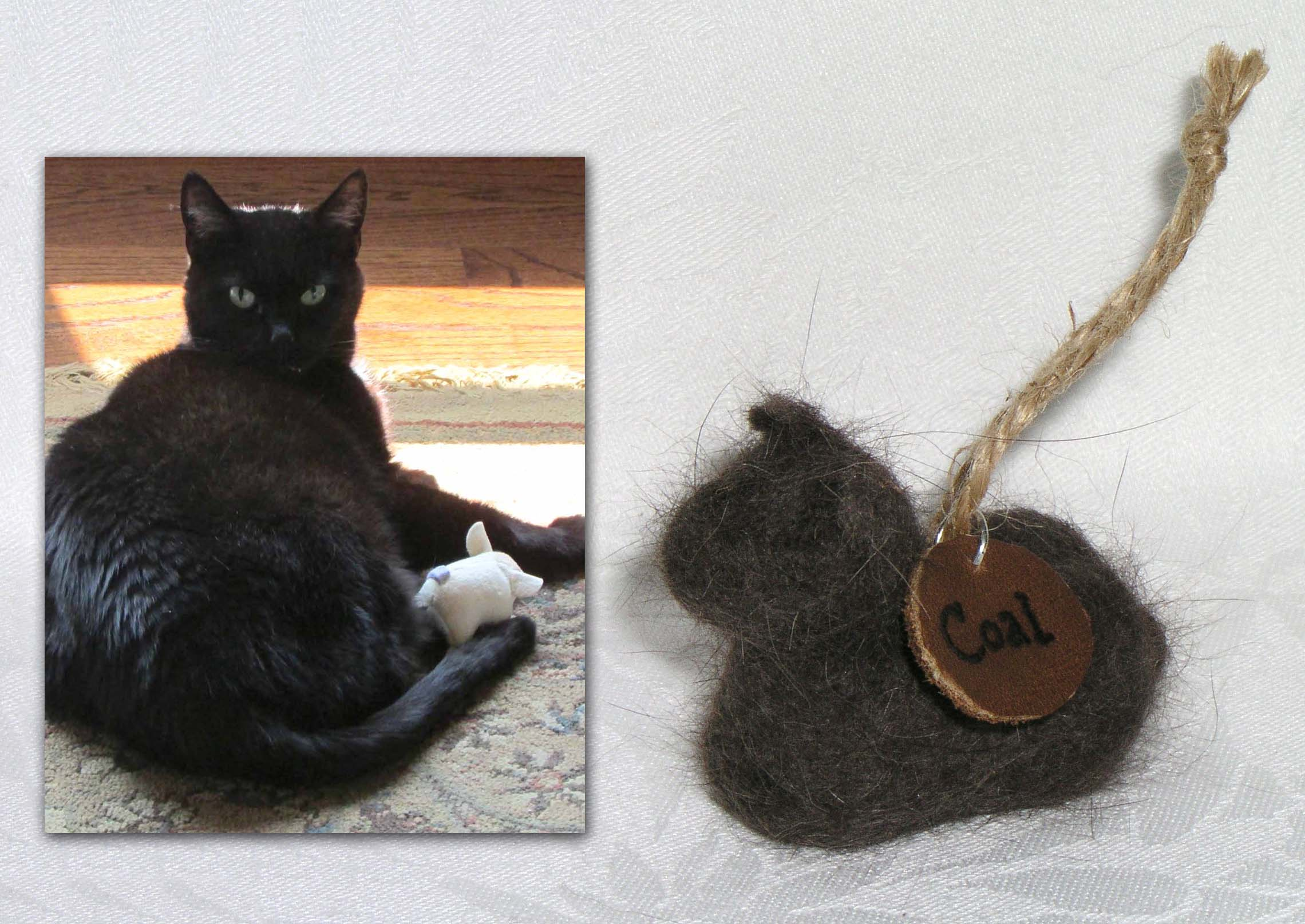 Color of cats fur - Needle Felted Cats Will Be The Color Of Your Cat S Undercoat And Not The Color Of Their Guard Hair The Fur Which You